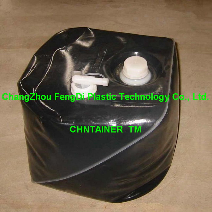 18 Liters 4.5 gallon collapsible LDPE cubitainer